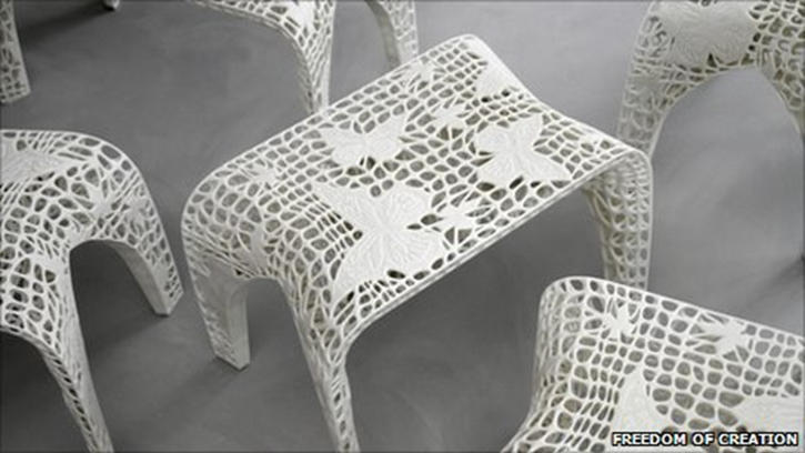 9 stunning 3d printed objects and 9 interesting facts for Furniture 3d printing